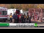صوت الإمارات - بالفيديو مقتل وجرح العشرات من المواطنين في انفجار عنيف شمال الباب