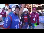 شاهد روسيا تنال ذهبية رياضة الزحافات في سويسرا
