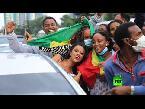 شاهد الإثيوبيون يحتفلون بتقدمهم في بناء سد النهضة