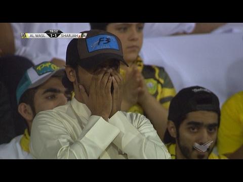 شاهد أهداف مباراة الشارقة أمام الوصل