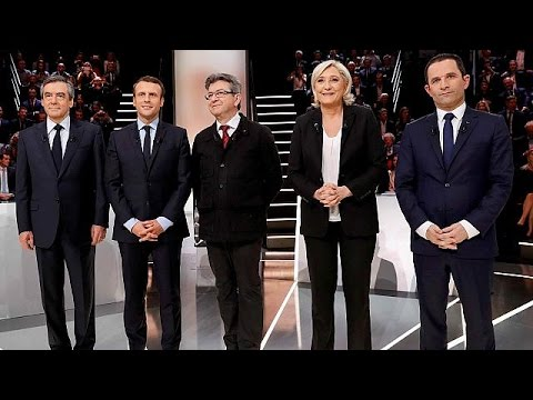 صوت الإمارات - بالفيديو مناظرة حادّة بين أهم المرشحين للرئاسيات الفرنسية
