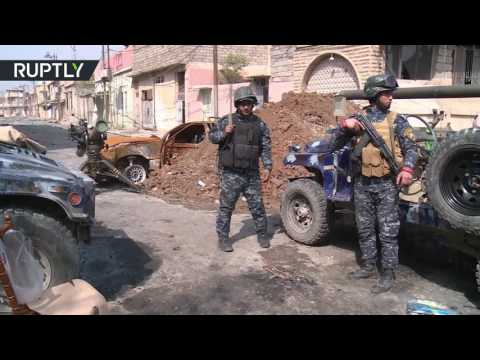 صوت الإمارات - شاهد تحرير حي الرسالة وشقق نابلس في الساحل الأيمن لمدينة الموصل