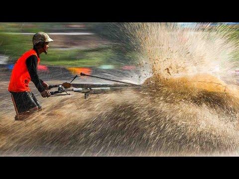 صوت الإمارات - شاهد إقامة أغرب سباق جرارات زراعية في العالم