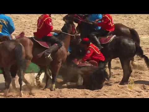 صوت الإمارات - شاهد رياضة البولو من على ظهور الخيول