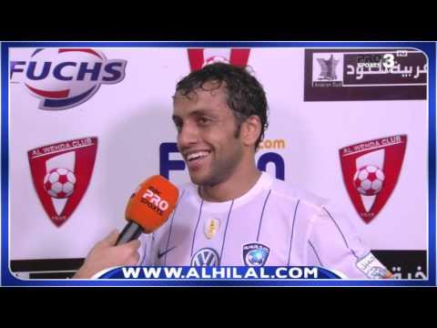 بالفيديو   حديث عبدالله المعيوف ومحمد الشلهوب بعد الفوز على الوحدة