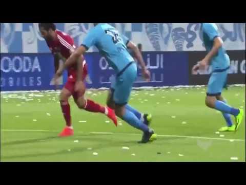 شاهد نادي الجزيرة يكتسح حتا بخماسية ويحسم لقب الدوري الإماراتي