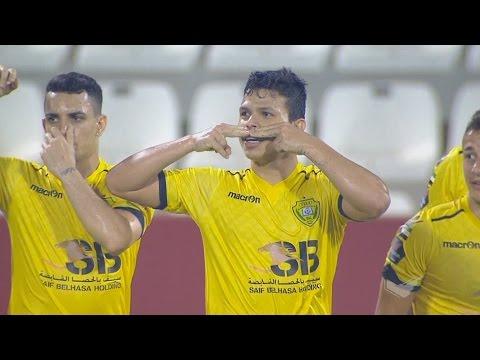 شاهد أهداف مباراة دبا الفجيرة والوصل الإماراتي