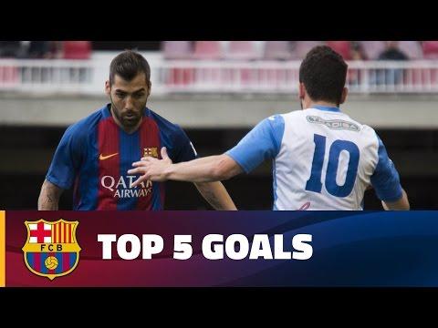 صوت الإمارات - شاهد أفضل 5 أهداف لبراعم أكاديمية برشلونة الماسية هذا أسبوع