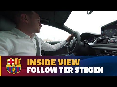 كواليس تجديد عقد حارس برشلونة تير شتيغن