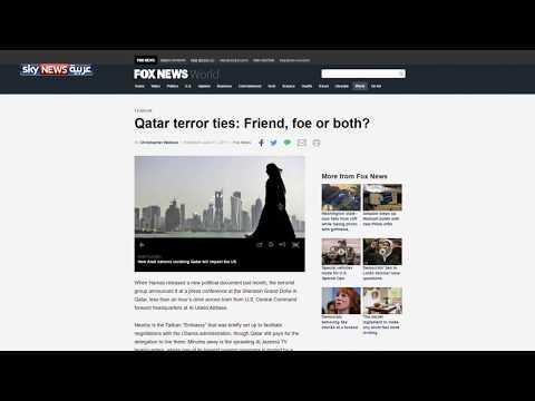 صوت الإمارات - فوكس نيوز تسلط الضوء على الدور القطري في تمويل الإرهاب