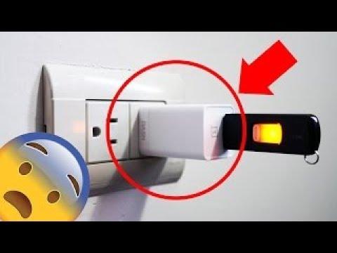 صوت الإمارات - تساؤلات بشأن ما سيحدث حال توصيل الذاكرة الخارجية usb بمقبس الكهرباء