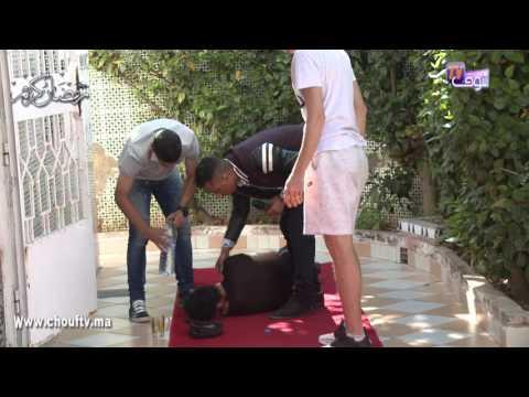 صوت الإمارات - شاهد النجم المغربي يوسف القديوي يقع في أحد المقالب التلفزيونية