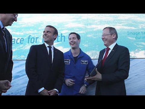 صوت الإمارات - شاهد ابتكارات وطموحات لغزو الفضاء في معرض باريس للطيران