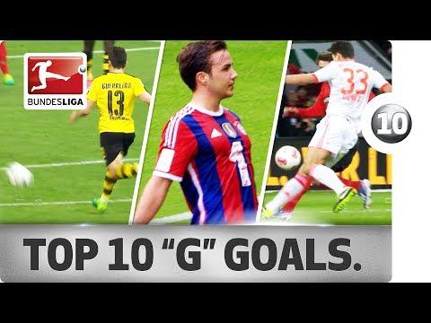 صوت الإمارات - بوندزليغا تنشر أفضل الأهداف للاعبين بحرف g