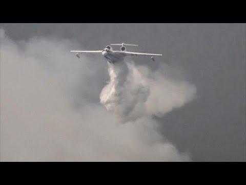 صوت الإمارات - انتشار حرائق الغابات في سيبيريا