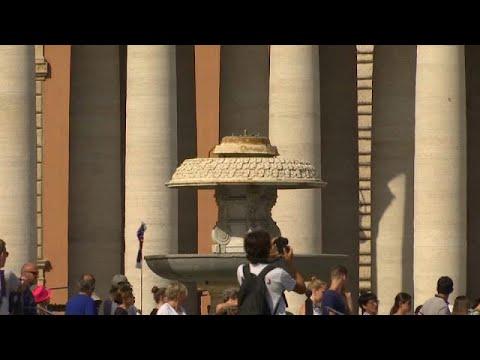 صوت الإمارات - الجفاف يقطع المياه عن نافورات روما السياحية