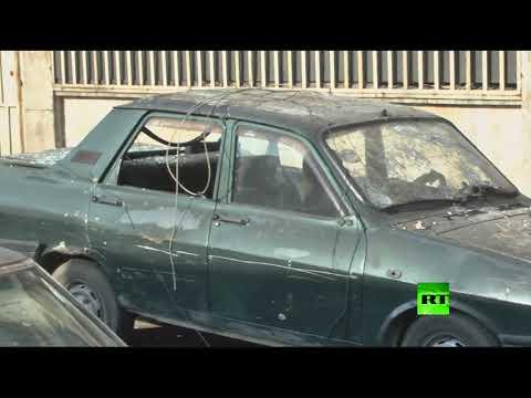 صوت الإمارات - شاهد مسلحون يقصفون حي الأكرمية في حلب