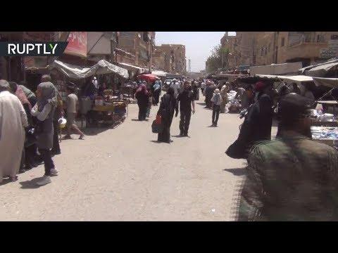 صوت الإمارات - شاهد مواطنو دير الزور يرحبون بتقدم الجيش السوري في ريف المحافظة
