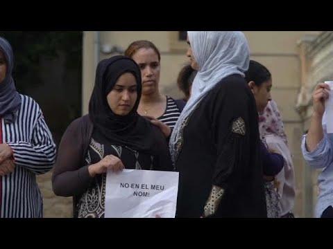 صوت الإمارات - شاهد والدة المشتبه به الهارب في اعتداء برشلونة تطالبه بتسليم نفسه