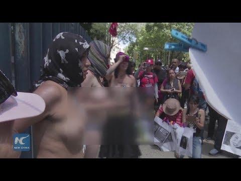 صوت الإمارات - احتجاجات في المكسيك طلبا للثأر من مقتل طالبة