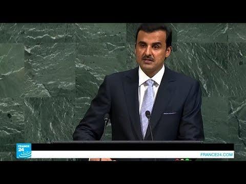صوت الإمارات - شاهد أمير قطر يندد بالحصار المفروض على بلاده