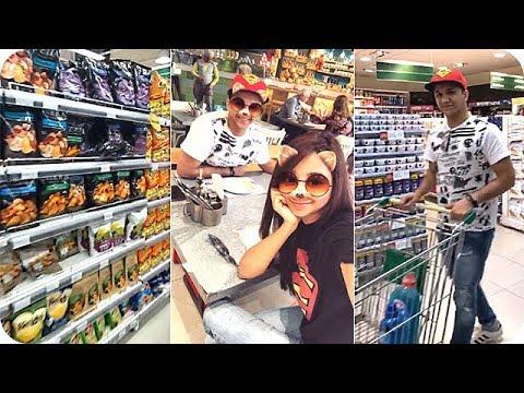 صوت الإمارات - شاهد النجمة أسيل عمران تتسوّق مع أخيها باسل