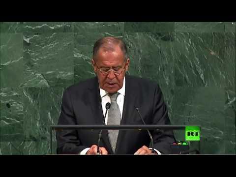 صوت الإمارات - شاهد كلمة وزير الخارجية الروسي سيرغي لافروف أمام الأمم المتحدة