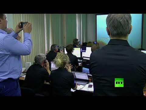 صوت الإمارات - شاهد لحظة إطلاق صاروخ روسي يحمل قمرًا صناعيًا أوروبيًا