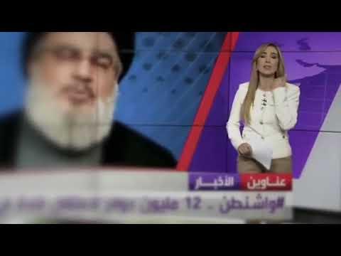 صوت الإمارات - شاهد السعال يضع مذيعة العربية في موقف محرج على الهواء