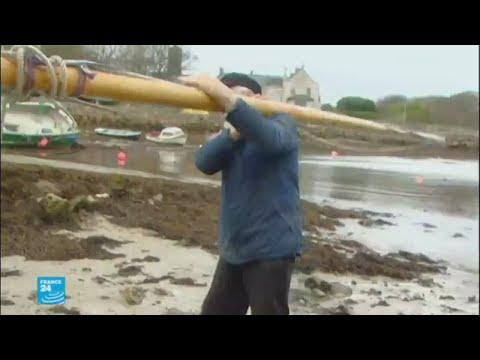 صوت الإمارات - شاهد إعصار يهدّد إيرلندا