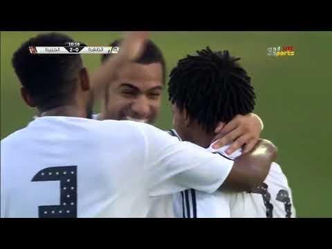 شاهد فريقا الظفرة والجزيرة يتعادلان 22 على ملعب حمدان بن زايد