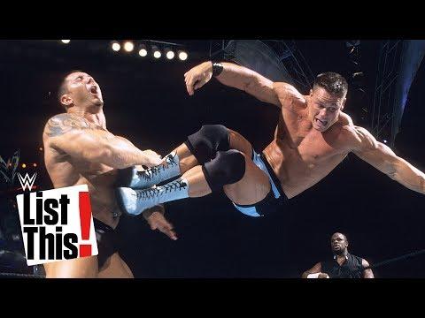 صوت الإمارات - شاهد 6 حركات يفضلها جون سينا على حلبات المصارعة