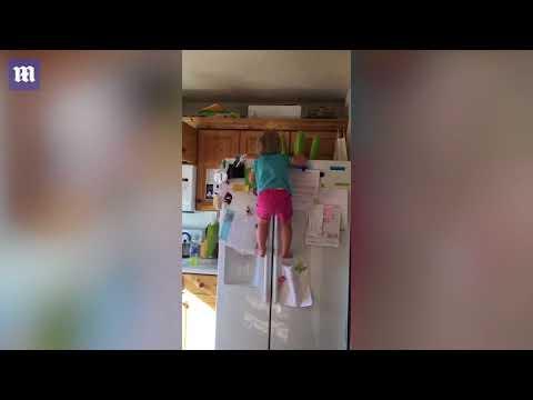 صوت الإمارات - شاهد الطفلة العنكبوتية تشعل مواقع التواصل