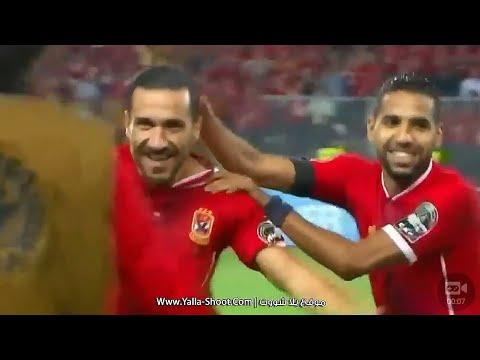 صوت الإمارات - شاهد  الهدف الأول للنادي الأهلي في مرمي النجم الساحلي