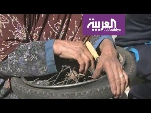 صوت الإمارات - شاهد الحاجة نجية سبعينية في إصلاح الدراجات الهوائية