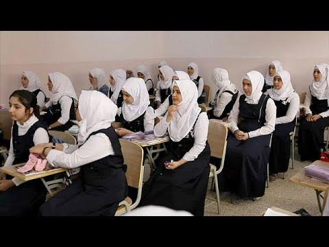 شاهد أبناء الانبار العراقية يعودون إلى المدارس