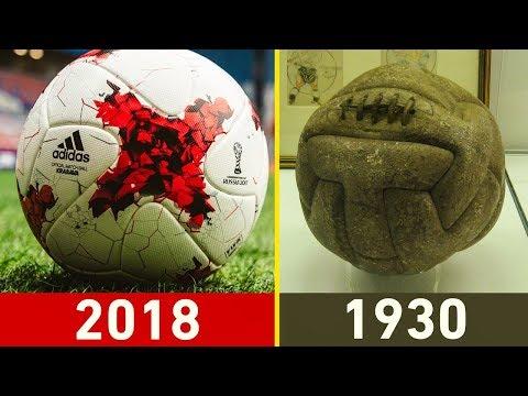 جميع الكرات التي استعملت في تاريخ كأس العالم