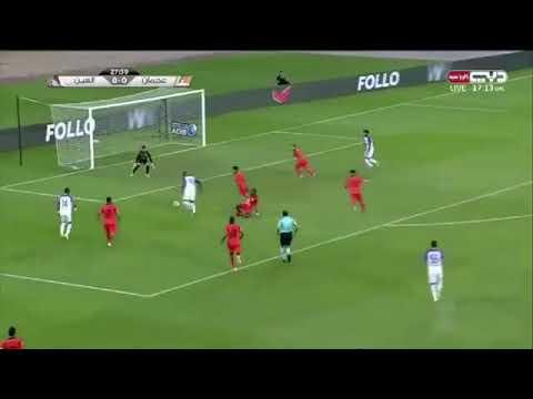 بالفيديو  أهداف مباراة العين الإماراتي وعجمان 32