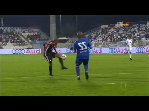شاهد أهداف مباراة الوحدة والجزيرة