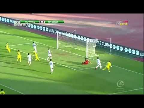 شاهد أهداف مباراة الوصل وبني ياس