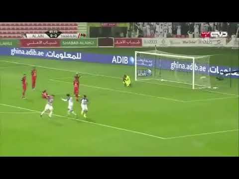 شاهد ملخص مباراة شباب أهلي دبي والعين المنتهية بالتعادل