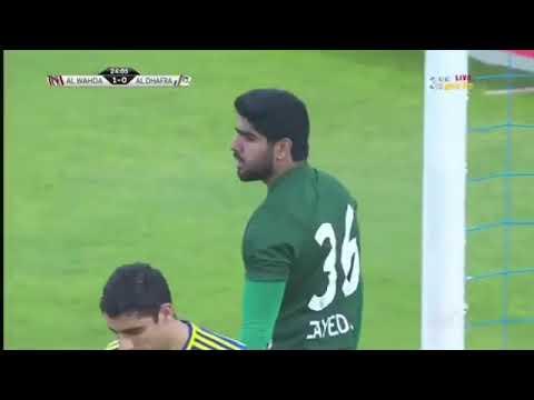 شاهد أهداف مباراة الوحدة والظفرة المنتهية بالتعادل بهدف