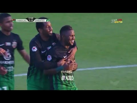 شاهد أهداف مباراة شباب الأهلي والإمارات
