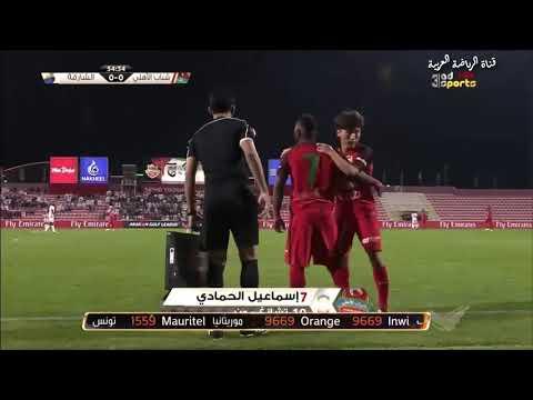 شاهد  شاهد ملخص مباراة الشارقة وشباب الأهلى دبي