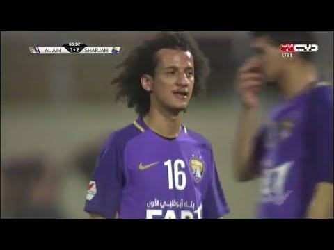 شاهد العين يسقط أمام الشارقة في الدوري الإماراتي