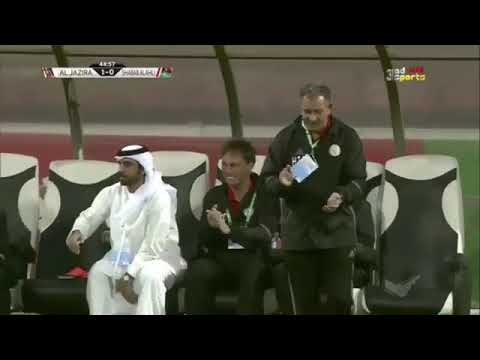 شاهد أهداف فوز شباب أهلى دبي على الجزيرة 21