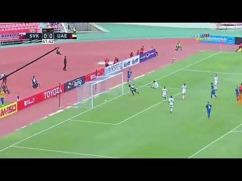 شاهد أهداف مباراة الإمارات أمام منتخب سلوفاكيا