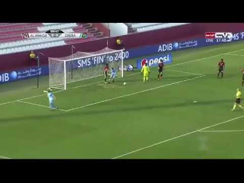 شاهد  أهداف مباراة الوحدة ودبا الفجيرة 43