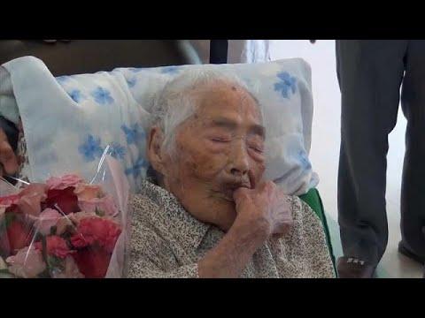 شاهد وفاة اليابانية نابي تاجيما أكبر معمّرة في العالم عن 117 عامًا