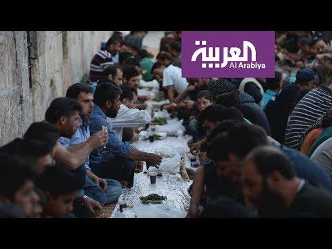 شاهد موائد الإفطار في إدلب